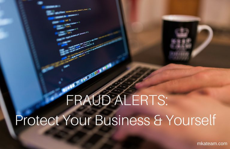 Protect your business and yourself from scams
